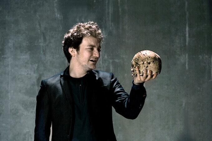 "Pol López in ""Hamlet"" (foto di Ros Ribas)"