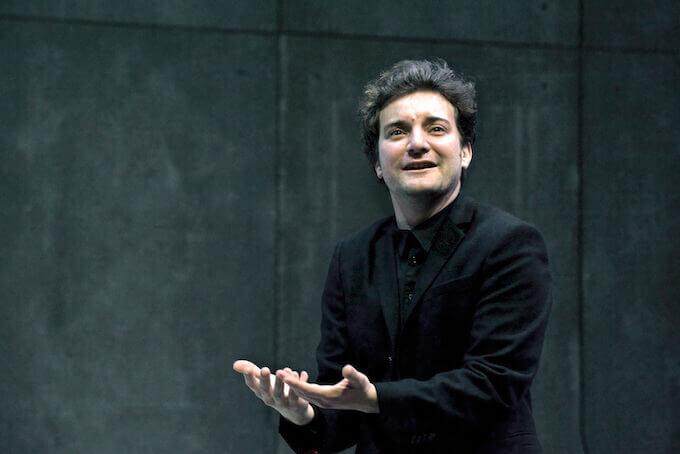 "Pol López in ""Hamlet"". Foto di Ros Ribas"