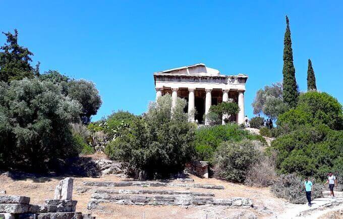 Atene: tempio di Efesto (o Teseion). Foto di Saul Stucchi