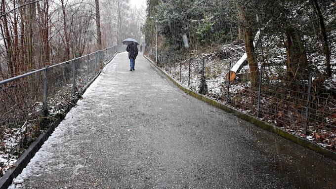 Chemin du Calvaire a Losanna