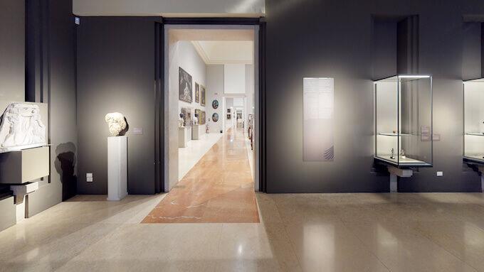 Una sala delle Gallerie Estensi di Modena