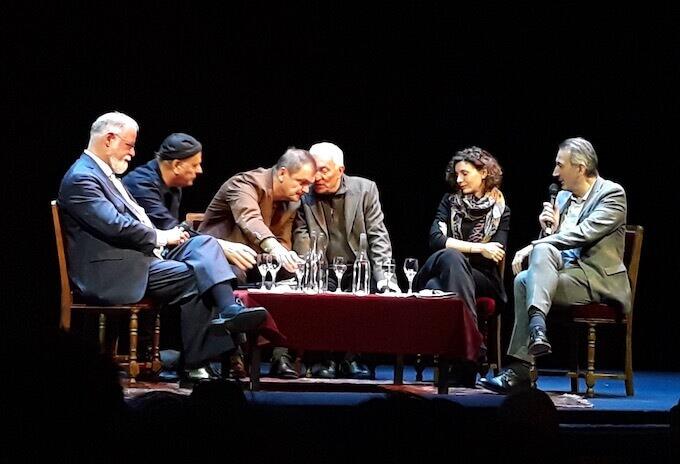 Alberto Manguel, Enki Bilal, Goran Petrović, il suo interprete, Mila Turajlić e