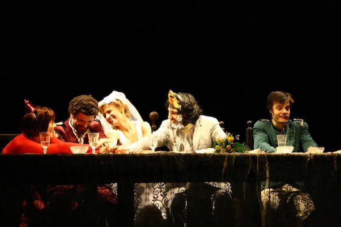 Una scena dell'Otello al Teatro Litta di Milano (2008)