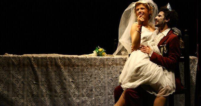 Irene Serini e Francesco Villano in Otello