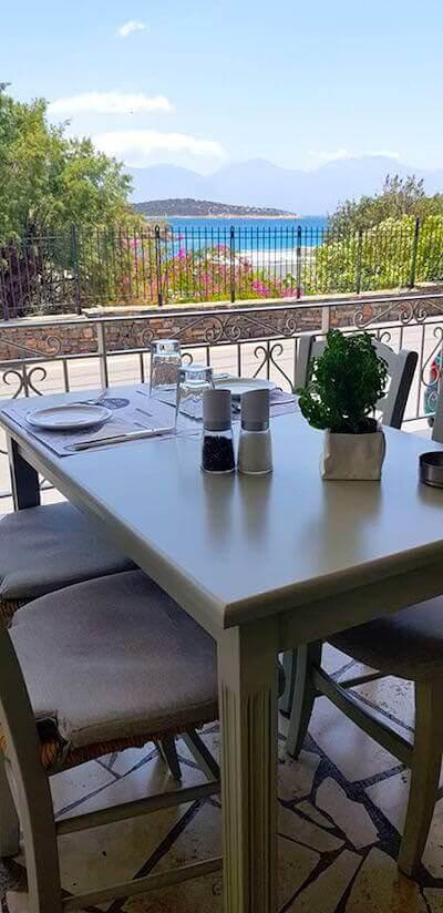 La taverna Kri-Kri ad Agios Nikolaos