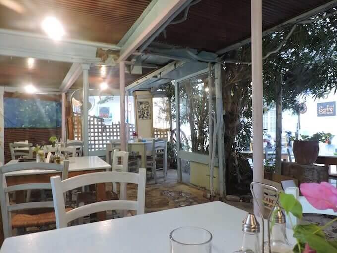 La Taverna Sarri ad Agios Nikolaos, Creta