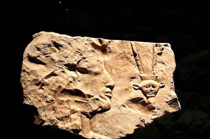 Un oggetto della collezione egizia di Jacques-Édouard Berger a Losanna