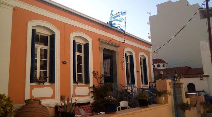 Il ristorante Agios Pelagos ad Agios Nikolaos