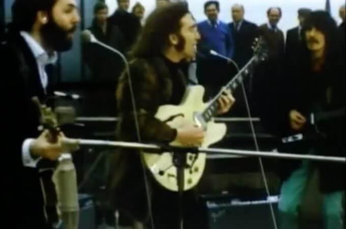 Concerto sul tetto dei Beatles
