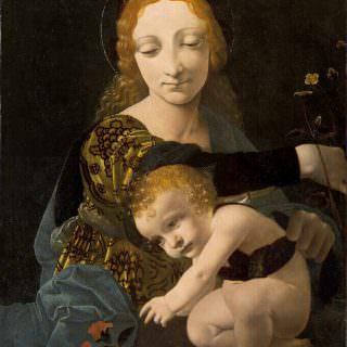 Giovanni Antonio Boltraffio, Madonna con Bambino