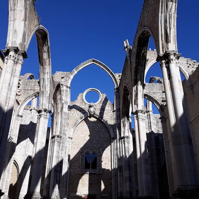 Lisbona: Convento do Carmo