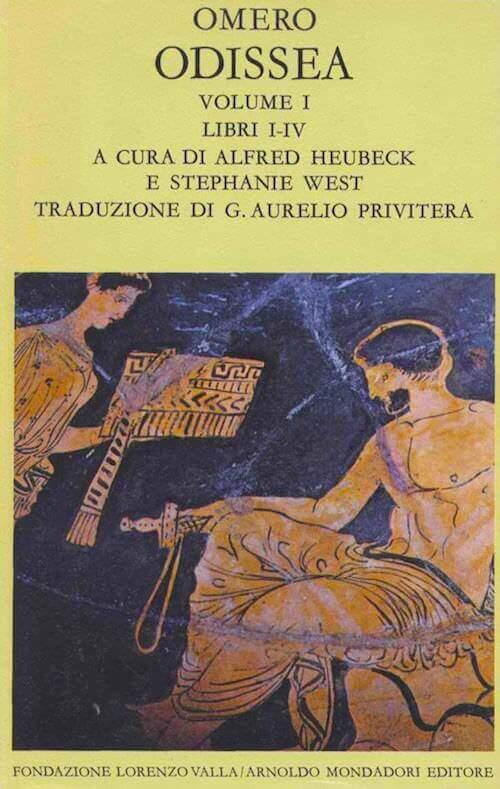 Omero, Odissea. Volume I: libri I-IV, Fondazione Valla