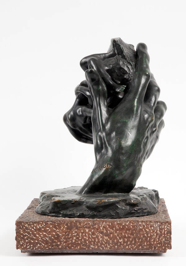 Auguste Rodin, Main de Dieu, 1896 [1968], bronzo (fusione Georges Rudier), Paris 1968; © Governatorato SCV Direzione dei Musei