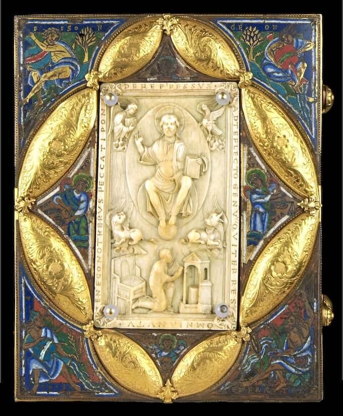 Evangelario di Notger, Museo Grand Curtius © Ville de Liège