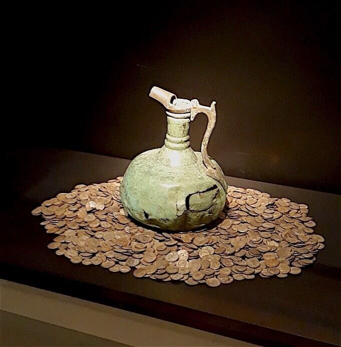 Museo Grand Curtius di Liegi, Tesoretto monetale di epoca gallo-romana