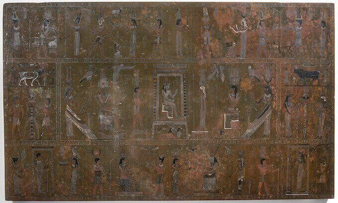 La Mensa Isiaca del Museo Egizio di Torino