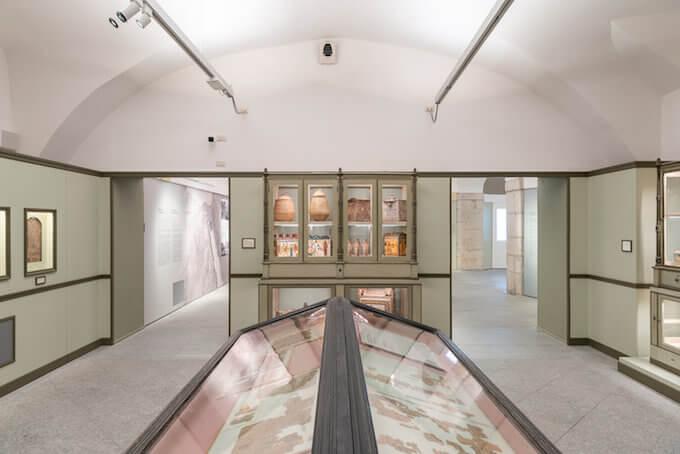 Museo Egizio di Torino: la sala ottocentesca