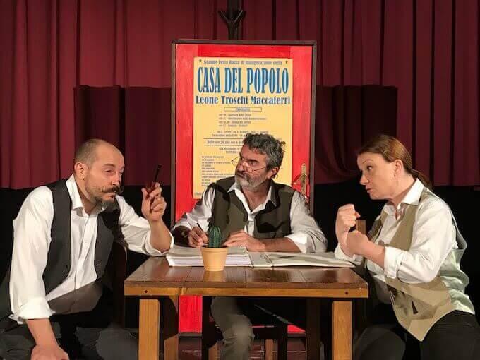 """Teatro dell'Argine, """"Casa del Popolo"""""""