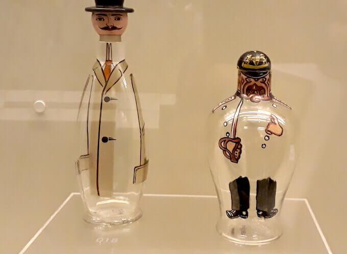 Bottiglia antropomorfa tedesca, Museo Grand Curtius, Liegi