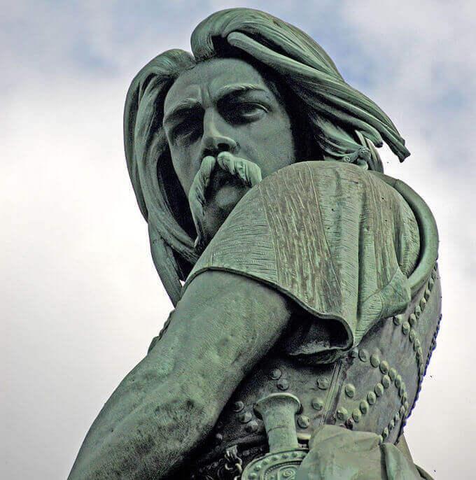 Statua di Vercingetorige ad Alesia