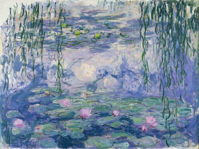 Claude Monet, Ninfee, Parigi, Musée Marmottan Monet, lascito Michel Monet, 1966 © Christian Baraja SLB © Musée Marmottan Monet, Paris / Bridgeman Images
