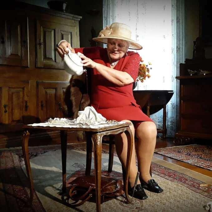 "Diana Ceni in ""Clitemnestra"" di Marguerite Yourcenar"