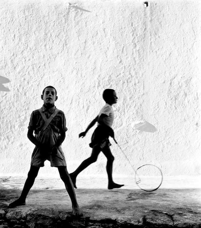 Piergiorgio Branzi, Mykonos (1957) © Piergiorgio Branzi