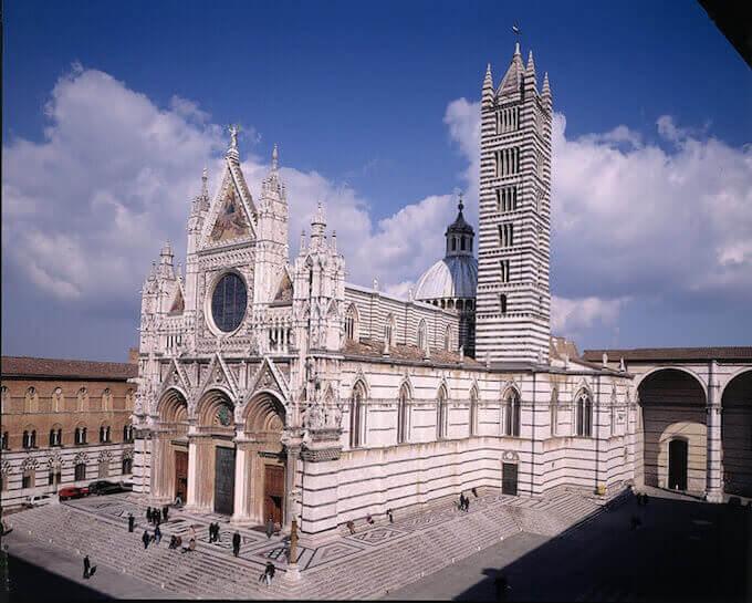 Il Diomo di Siena (foto Lensini)
