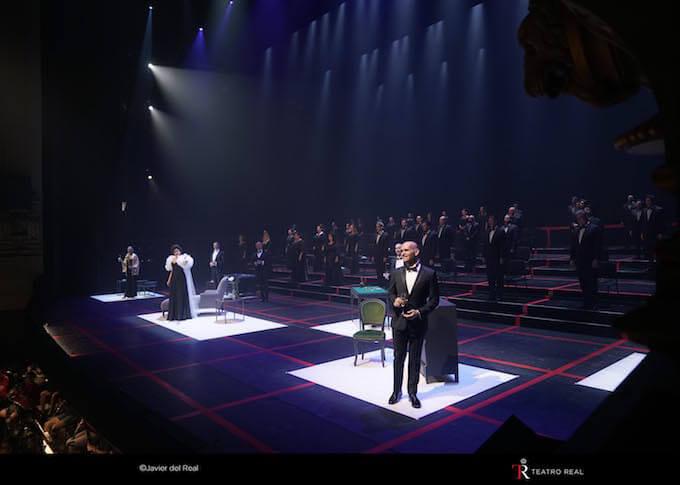 """La traviata"" di Verdi al Teatro Real di Madrid © Javier del Real   Teatro Real"