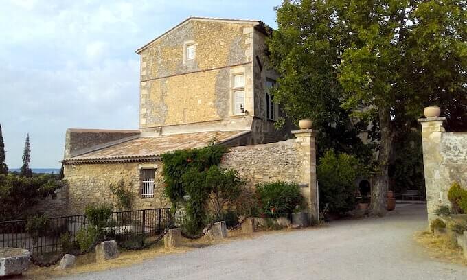 Castello del Petit Sonnailler ad Aurons (Provenza)