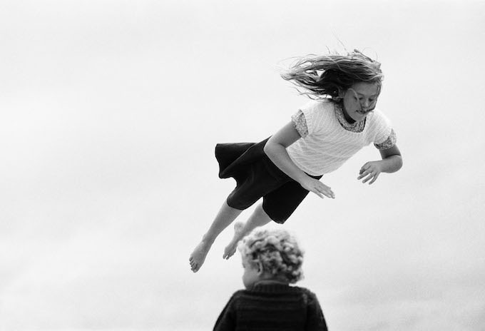 Jacques Henri Lartigue, La Baule, 1979