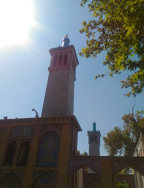 Palazzo Golestan a Teheran: torri del vento