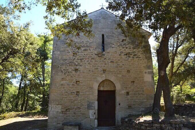 La cappelletta del castello del Petit Sonnailler