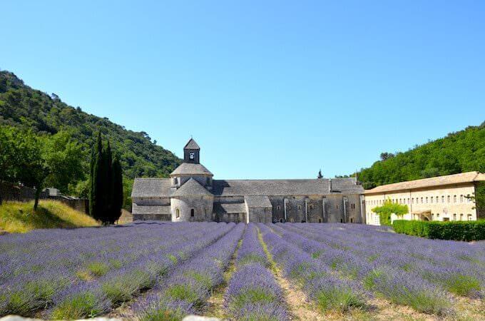 L'abbazia di Sénanque in Provenza