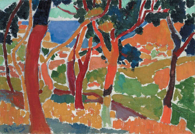 André Derain, L'Estaque (1906)