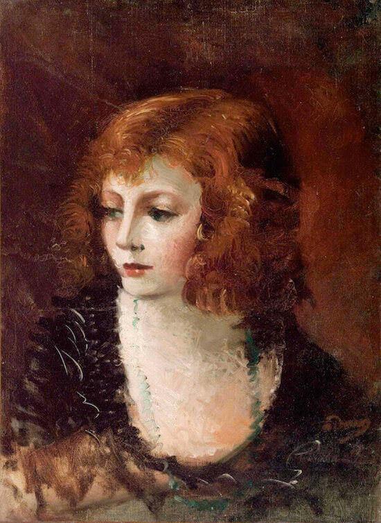 André Derain, Portrait de femme (1926-1928)