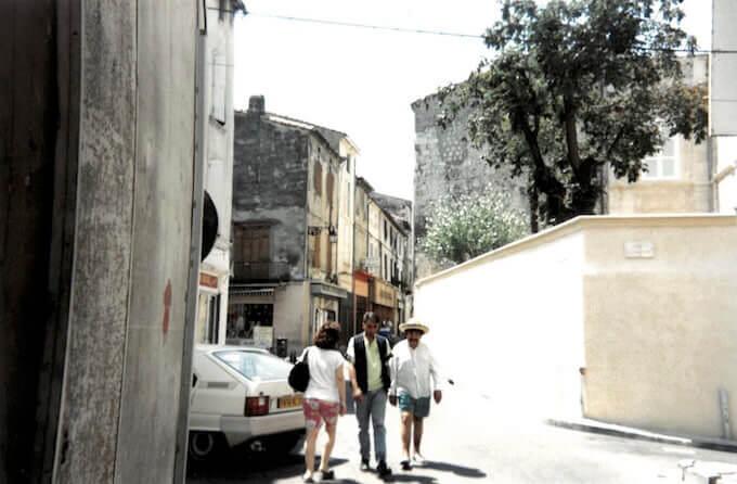 """Il """"vecchio armeno"""" di Arles"""