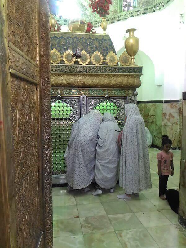 Susa: interno del Mausoleo del profeta Daniele