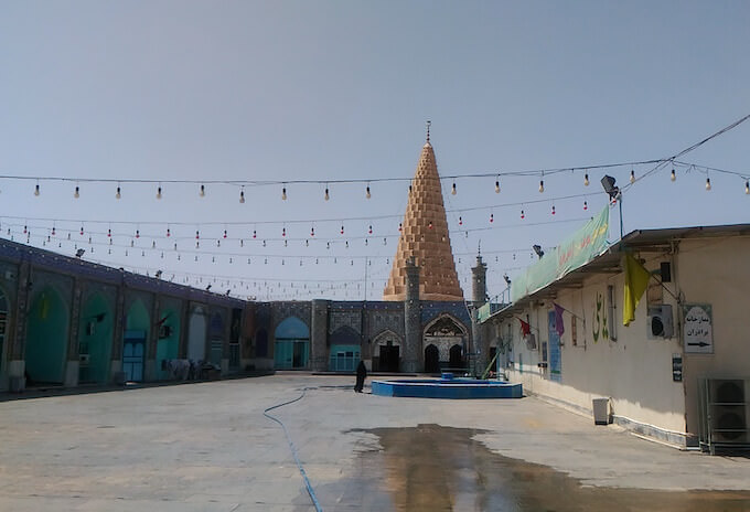 Susa (Iran): Mausoleo del profeta Daniele
