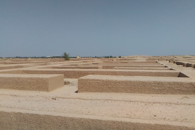 Antiche fondamenta di Susa (Iran)