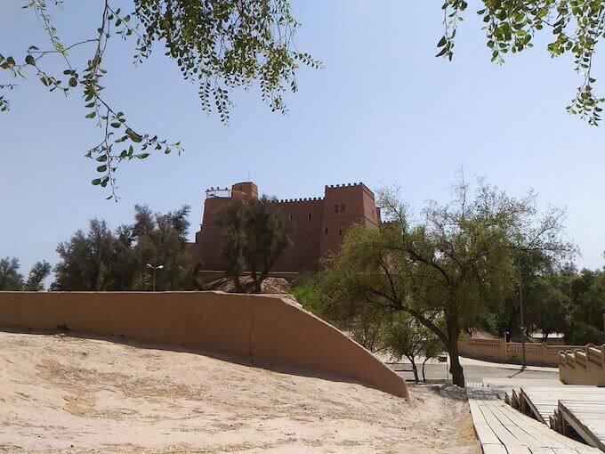 """Susa (Iran) il """"castello"""""""