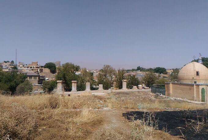 Resti del tempio di Anahita a Kangavar