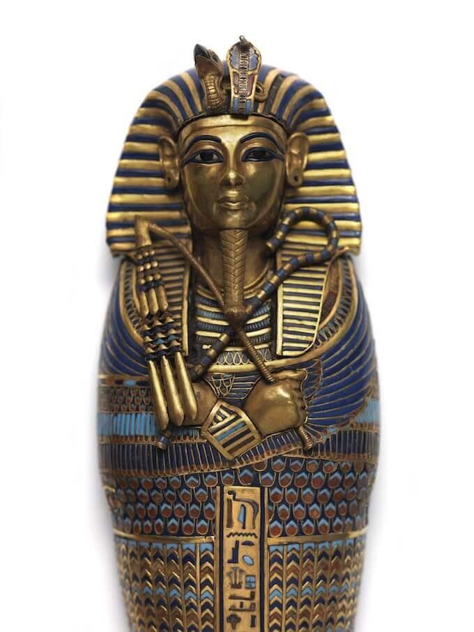 Sarcofago canopo in miniatura di Tutankhamon