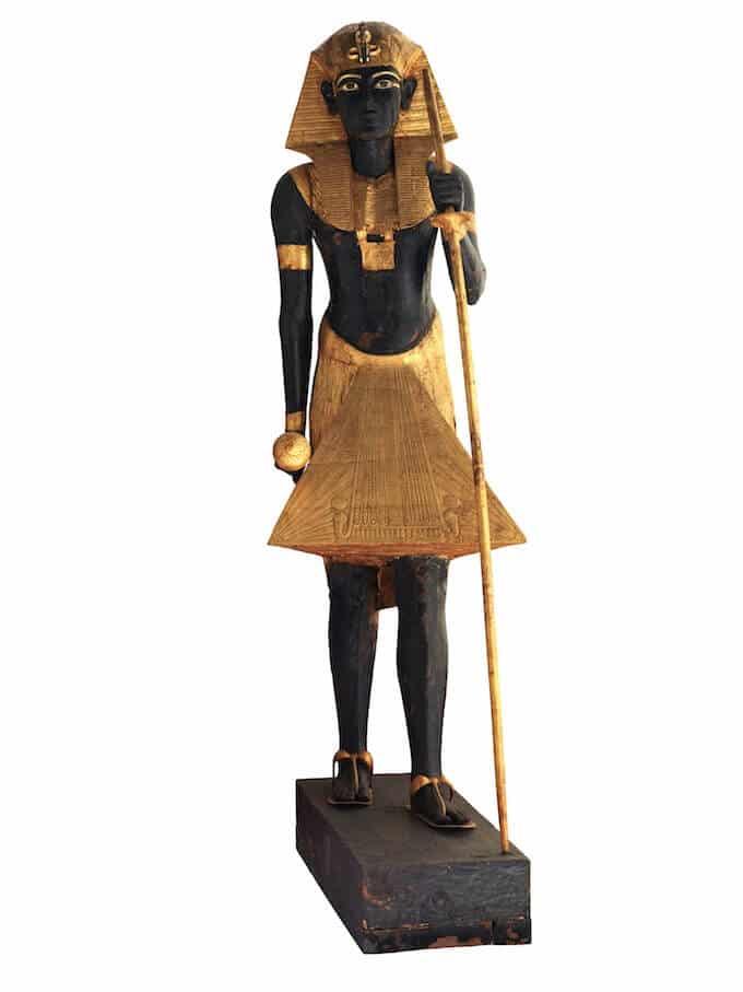 Statua guardiano di Tutankhamon