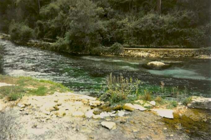 Le chiare, fresche, dolci acque di Vaucluse