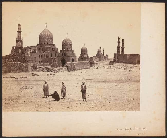 Beato Antonio, Le tombe dei Califfi al Cairo