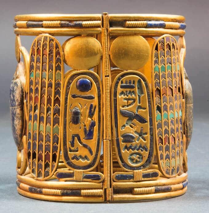 Bracciale con i cartigli di Psusennes I