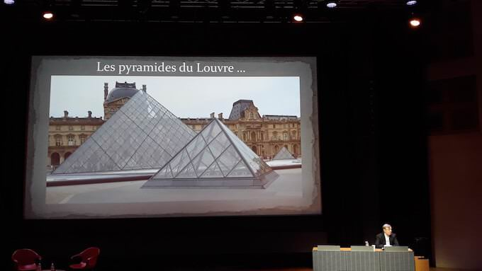 Dimitri Meeks al Louvre