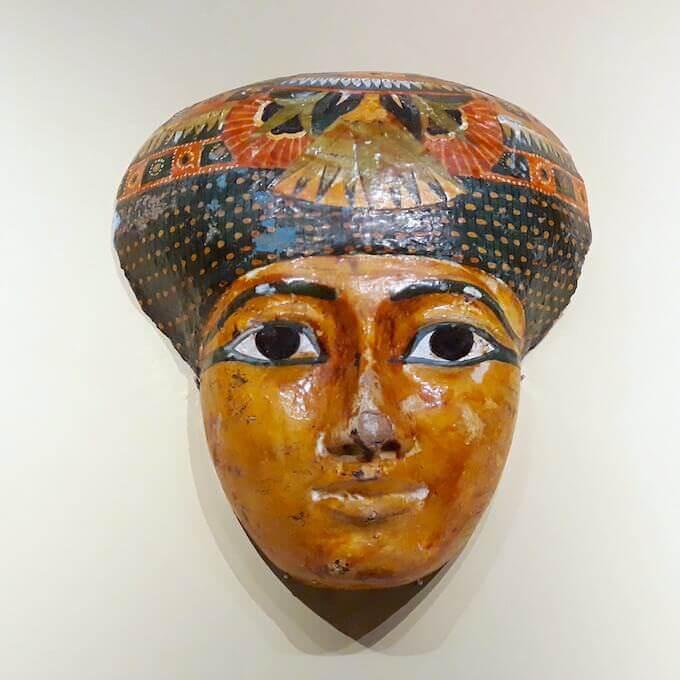 Maschera funeraria egizia