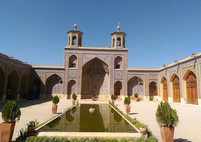 La moschea Nasir ol Molk